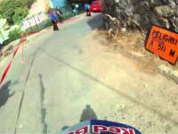 Downhill ulicami miasta w Chile