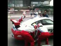 Pit stop Porsche w sercu Warszawy