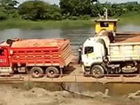 Jak nie transportować ciężarówek