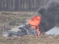 Wypadek śmigłowca podczas rosyjskich pokazów lotniczych