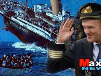 Kapitan D. Tusk do Polakow - Sayonara!