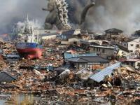Tsunami atakuje siejąc totalne spustoszenie