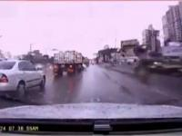 Najdłuższy na świecie wypadek drogowy - Guinness World Records 2013