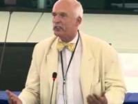 KORWIN MASAKRUJE W EUROPIE - 9.06.2015 (równouprawnienie kobiet)