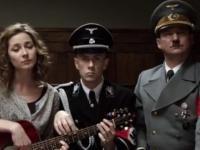 Nergal-Ribbentrop i Więckiewicz-Hitler grają i śpiewają