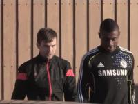 Salomon Kalou Drives me in his ferrari after Adidas Advertisement