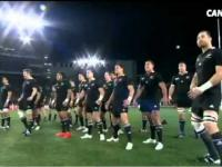 Nowa Zelandia - Tonga - haka przed meczem rugby
