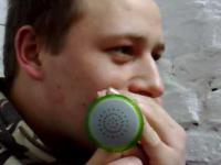 Beatbox i megafon z marsjanków