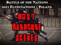 Najbardziej hardcorowe sceny podczas eliminacji do Bitwy Narodów 2013
