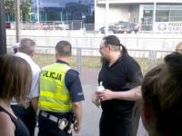 Policja odbiera lody w autobusach WARSZAWA