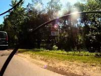 Wandal rowerzysta trafia na agresywnego pasażera w Ząbkach