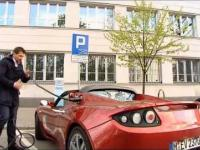 Tesla Roadster - polski test