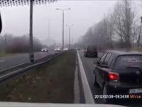 Polska wieś na drodze