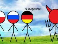 Diabeł złapał Polaka,Ruska i Niemca