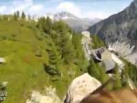 Piękne widoki z lotu orła