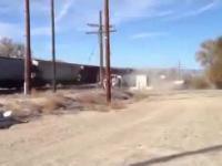 Pociąg zderzył się z cysterny