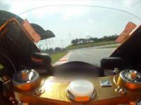 Okrążenie z Caseyem Stonerem na torze Sepang 2012