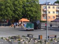 Jak szybko zepsuć fontannę w Tomaszowie Lubelskim