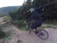 Ekstremalne latanie na rowerach