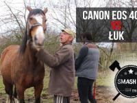Czy Canon EOS 400D wytrzyma ostrzał z łuku?