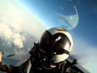 Myśliwiec F18 i kamera Go Pro