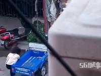 Katował żone na ulicy