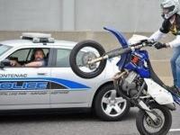 Motocykliści kontra Policja