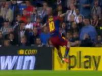 Niesportowe zachowanie Messiego