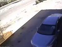 Wybuchowy arab na stacji benzynowej