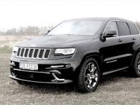 Jeep Grand Cherokee SRT 2014 - test