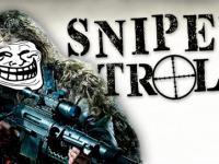 Wredny troll snajper psuje zabawę