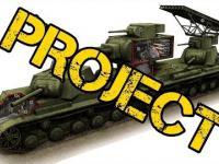 Radziecki czołg wynalazek KV-6 Behemoth