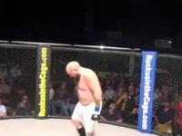 Zawodnik podczas duszenia w walce MMA nie wytrzymał ciśnienia