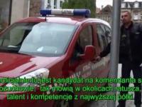 odc. 61 straż Biznesowa - Kożuchów. Śpiąca służba i wizyta Policji
