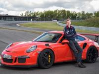 Porsche 911 GT3 RS Full throttle on track with Walter RĂśhrl