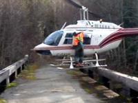 Perfekcyjne lądowanie śmigłowcem