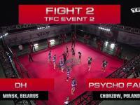 Legalne walki kibiców: TFC Event 2 DH (Minsk, Białoruś) vs Psycho Fans (Chorzów, Polska)