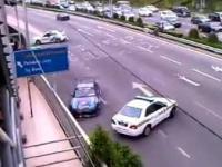 Policja kontra drifter