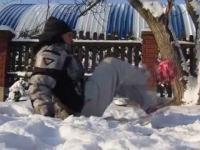 Freestyle na śniegu!
