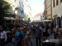 Praga - Manifestacja przeciw islamowi