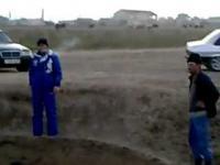 Wielkie zapadlisko ziemi w Dagestanie