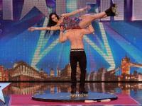 Niebezpieczny taniec rodzeństwa na wrotkach w brytyjskim Mam Talent
