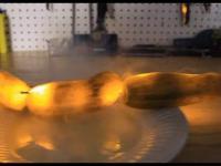 Pomyślna próba elektryczne ogórki