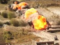 Pojazd do rozminowywania M1 Assault Breacher podczas akcji w Afganistanie