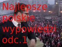 Najlepsze polskie wypowiedzi