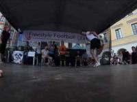 Niesamowity finał na turnieju trików piłkarskich