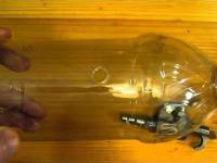 Gun from a plastic bottle