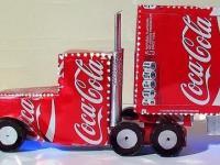 Jak zrobić ciężarówkę Coca-Coli?