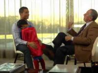 Syn Cristiano Ronaldo przerywa wywiad taty...