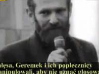 Zakazany, ukrywany 27 lat film Jak Bolek Walesa zniszczyl Solidarnosc1 cz